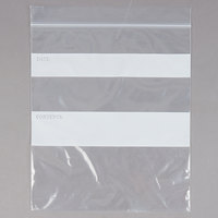 7 inch x 8 inch Standard Weight 1 Qt. Seal Top Bag - 500/Pack