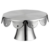 Vollrath 59797 Mini 4 inch Round Stainless Steel Serving Stand / Cupcake Stand