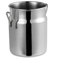 Vollrath 59765 16.3 oz. Mini Milk Can Stainless Steel Creamer