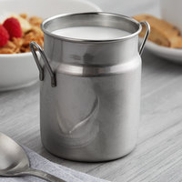 Vollrath 59765 16.3 oz. Mini Milk Can Stainless Steel Creamer