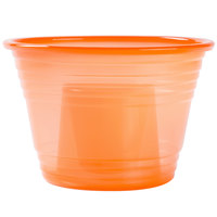 Fineline Quenchers 4112-ORG Blaster Bomb Shot Cups / Power Bombs Neon Orange - 500/Case