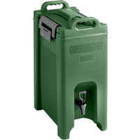 CaterGator 5 Gallon Green Insulated Beverage Dispenser
