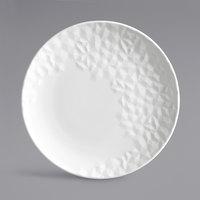 Syracuse China 988001036 Status 8 1/2 inch Royal Rideau White Porcelain Round Coupe Plate - 24/Case