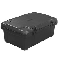 CaterGator Black Top Loading 6 inch Deep Single Pan Carrier