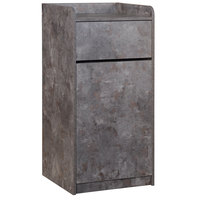 BFM Seating TE4622RC 35 Gallon Rustic Copper Waste Can Enclosure