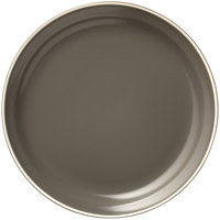 World Tableware ENG-2-O Englewood 9 inch Matte Olive Porcelain Plate - 24/Case