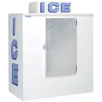 Polar Temp 630CW Cold Wall Outdoor Ice Merchandiser - 65 cu. ft.