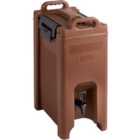CaterGator 5 Gallon Brown Insulated Beverage Dispenser