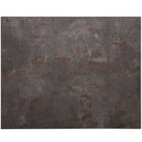BFM Seating RC2430 Relic Rustic Copper 24 inch x 30 inch Rectangular Melamine Table Top with Matching Edge
