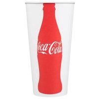 Dart Solo RNP21C-44046 Coke® 21 oz. Poly Paper Cold Cup   - 1000/Case
