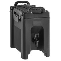 CaterGator 2.5 Gallon Black Insulated Beverage Dispenser