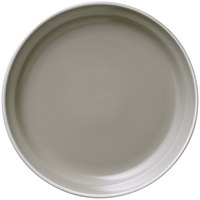 World Tableware ENG-2-C Englewood 9 inch Matte Mint Cream Porcelain Plate - 24/Case