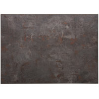 BFM Seating RC3042 Relic Rustic Copper 30 inch x 42 inch Rectangular Melamine Table Top with Matching Edge