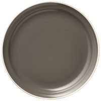 World Tableware ENG-3-O Englewood 10 1/2 inch Matte Olive Porcelain Plate - 12/Case