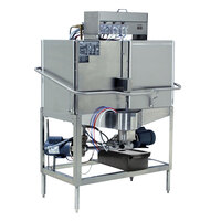 CMA Dishmachines CB-2R Double Rack Low Temperature, Right Door Configuration, Chemical Sanitizing Corner Dishwasher - 115V