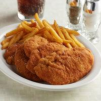 Brakebush Crispy-Lishus 5 lb. Bag Uncooked Boneless Chicken Breast Tender Fritters - 2/Case