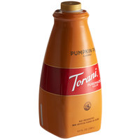 Torani 64 fl. oz. Puremade Pumpkin Pie Flavoring Sauce