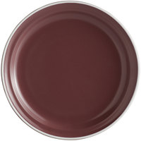 World Tableware ENG-1-M Englewood 6 1/2 inch Matte Mulberry Porcelain Plate - 36/Case