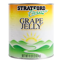 Stratford Farms Grape Jelly #10 Can - 6/Case