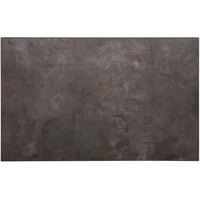 BFM Seating RC3048 Relic Rustic Copper 30 inch x 48 inch Rectangular Melamine Table Top with Matching Edge