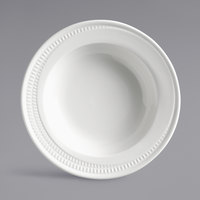Syracuse China 968001740 Zipline 14 oz. Royal Rideau White Wide Rim Soup Bowl   - 24/Case