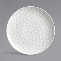 Syracuse China 988001078 Status 13 inch Royal Rideau White Porcelain Round Coupe Platter - 12/Case