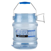 San Jamar SI6100 Shorty Saf-T-Ice 5 Gallon Ice Tote