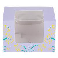 Easter Egg Box 1/2 lb. Window Candy Box 4 5/8 inch x 3 1/8 inch x 3 1/8 inch - 250/Case