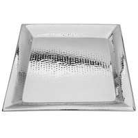 Walco VMT22 Ironstone 22 inch Stainless Steel Square Serving Tray