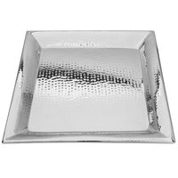 Walco VMT18 Ironstone 18 inch Stainless Steel Square Serving Tray