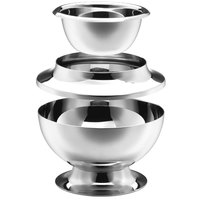 Walco O-U302 Soprano 3-Piece Stainless Steel Supreme Bowl