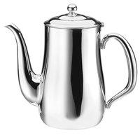 Walco CX514 Soprano 18 oz. Stainless Steel Gooseneck Coffee Pot