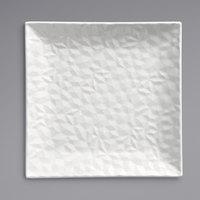 Syracuse China 988001158 Status 10 1/8 inch Royal Rideau White Porcelain Square Plate - 12/Case