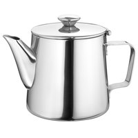 Walco 9-237AW Saturn 21 oz. Stainless Steel Tea Pot