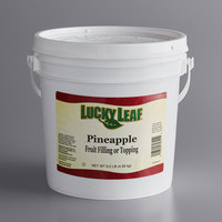 Lucky Leaf Premium Pineapple Fruit Filling & Topping - 9.5 lb. Pail