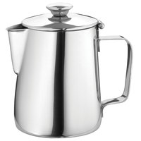 Walco 9-212 Saturn 12 oz. Stainless Steel Covered Beverage Server - 10/Case