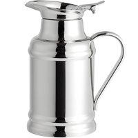 World Tableware 73457 Belle II 17 oz. Stainless Steel Thermal Milk Pot