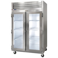 Traulsen G23010-023 52 inch G Series Glass Door Reach-In Freezer with Left / Right Hinged Doors