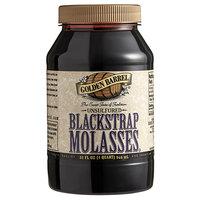 Golden Barrel 1 Qt. Sulfur-Free Blackstrap Molasses
