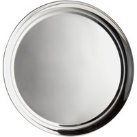 World Tableware 764103 Traditional Collection 16 inch Round Stainless Steel Tray