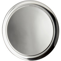 World Tableware 764104 Traditional Collection 14 inch Round Stainless Steel Tray