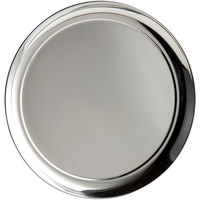 World Tableware 764105 Traditional Collection 12 inch Round Stainless Steel Tray