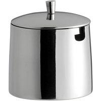 World Tableware 6713 Elexa 4.875 oz. Stainless Steel Sugar Bowl with Lid