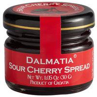 Dalmatia 1.05 oz. Sour Cherry Spread Mini Jar - 30/Case