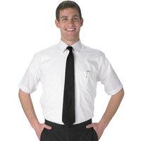 Henry Segal Men's Customizable White Short Sleeve Dress Shirt - S
