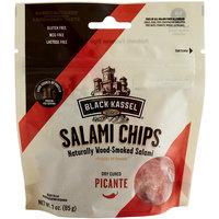 Piller's Black Kassel 3 oz. Picante Salami Chips - 16/Case