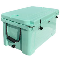 CaterGator CG100SF Seafoam 100 Qt. Rotomolded Extreme Outdoor Cooler / Ice Chest