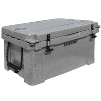 CaterGator CG45SPG Gray 45 Qt. Rotomolded Extreme Outdoor Cooler / Ice Chest