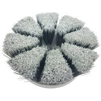 MotorScrubber MS1044 7 1/2 inch White Flagged Tipped Delicate Brush