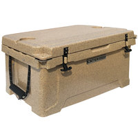 CaterGator CG45SPB Beige 45 Qt. Rotomolded Extreme Outdoor Cooler / Ice Chest